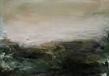 Lands by Dion Salvador Lloyd, Painting, Oil on Paper