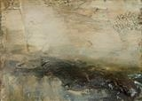 Landscape Study 132 by Dion Salvador Lloyd, Painting, Oil on Paper