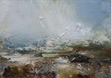 Wuthering by Dion Salvador Lloyd, Painting, Oil on Paper